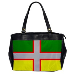 Flag Of Saguenay Lac Saint Jean Oversize Office Handbag by abbeyz71