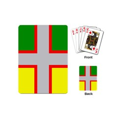 Flag Of Saguenay Lac Saint Jean Playing Cards (mini) by abbeyz71