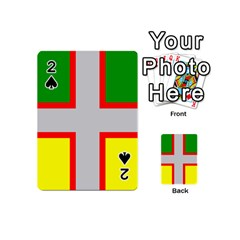 Flag Of Saguenay Lac Saint Jean Playing Cards 54 (mini) by abbeyz71