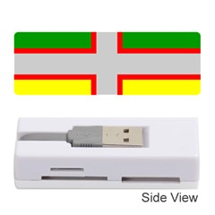 Flag Of Saguenay Lac Saint Jean Memory Card Reader (stick) by abbeyz71