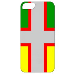 Flag Of Saguenay Lac Saint Jean Apple Iphone 5 Classic Hardshell Case by abbeyz71
