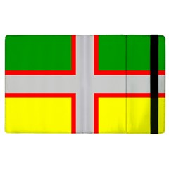 Flag Of Saguenay Lac Saint Jean Apple Ipad 3/4 Flip Case by abbeyz71