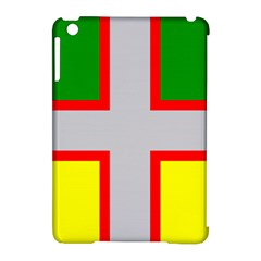 Flag Of Saguenay Lac Saint Jean Apple Ipad Mini Hardshell Case (compatible With Smart Cover) by abbeyz71