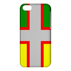 Flag Of Saguenay Lac Saint Jean Apple Iphone 5c Hardshell Case by abbeyz71