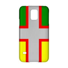 Flag Of Saguenay Lac Saint Jean Samsung Galaxy S5 Hardshell Case  by abbeyz71