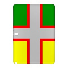 Flag Of Saguenay Lac Saint Jean Samsung Galaxy Tab Pro 10 1 Hardshell Case by abbeyz71