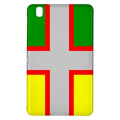 Flag Of Saguenay Lac Saint Jean Samsung Galaxy Tab Pro 8 4 Hardshell Case by abbeyz71