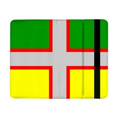 Flag Of Saguenay Lac Saint Jean Samsung Galaxy Tab Pro 8 4  Flip Case by abbeyz71