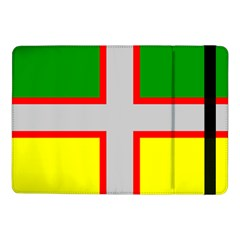 Flag Of Saguenay Lac Saint Jean Samsung Galaxy Tab Pro 10 1  Flip Case by abbeyz71