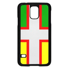 Flag Of Saguenay Lac Saint Jean Samsung Galaxy S5 Case (black) by abbeyz71