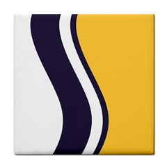 Flag Of South Bend, Indiana Tile Coasters