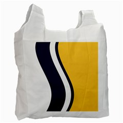 Flag Of South Bend, Indiana Recycle Bag (one Side) by abbeyz71