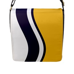 Flag Of South Bend, Indiana Flap Closure Messenger Bag (l)