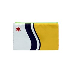 Flag Of South Bend, Indiana Cosmetic Bag (xs)