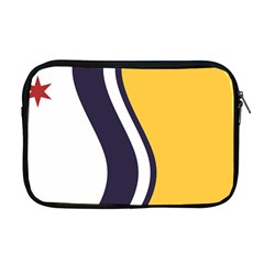 Flag Of South Bend, Indiana Apple Macbook Pro 17  Zipper Case by abbeyz71