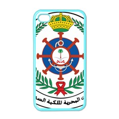 Logo Of Royal Saudi Navy Apple Iphone 4 Case (color)