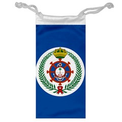 Naval Jack Of Saudi Arabia Jewelry Bag