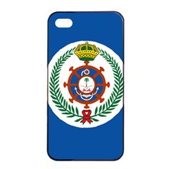 Naval Jack Of Saudi Arabia Apple Iphone 4/4s Seamless Case (black)