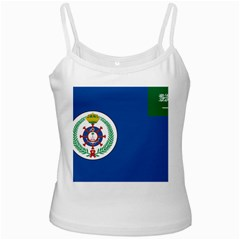 Naval Base Flag Of Royal Saudi Arabian Navy Ladies Camisoles by abbeyz71
