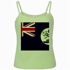 Flag Of Vancouver Island Green Spaghetti Tank by abbeyz71