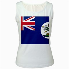 Flag Of Vancouver Island Women s White Tank Top by abbeyz71