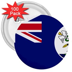 Flag Of Vancouver Island 3  Buttons (100 Pack)  by abbeyz71