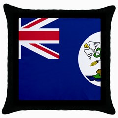 Flag Of Vancouver Island Throw Pillow Case (black) by abbeyz71