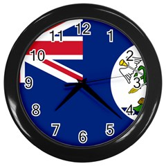 Flag Of Vancouver Island Wall Clock (black) by abbeyz71