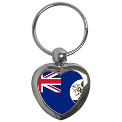 Flag Of Vancouver Island Key Chains (heart)  by abbeyz71