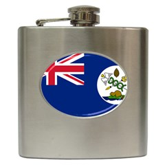 Flag Of Vancouver Island Hip Flask (6 Oz) by abbeyz71