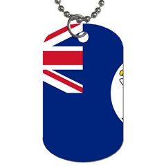 Flag Of Vancouver Island Dog Tag (two Sides) by abbeyz71