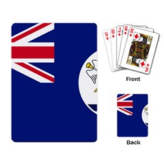 Flag Of Vancouver Island Playing Cards Single Design by abbeyz71