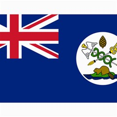 Flag Of Vancouver Island Canvas 36  X 48  by abbeyz71