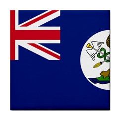 Flag Of Vancouver Island Face Towel by abbeyz71