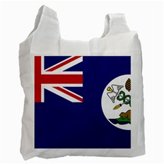 Flag Of Vancouver Island Recycle Bag (one Side) by abbeyz71