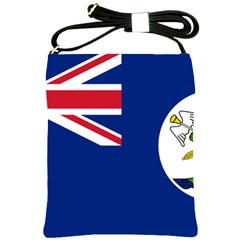 Flag Of Vancouver Island Shoulder Sling Bag by abbeyz71