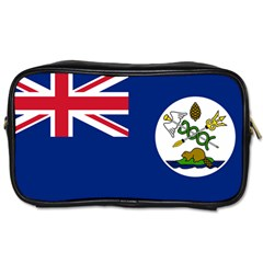 Flag Of Vancouver Island Toiletries Bag (one Side) by abbeyz71