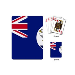 Flag Of Vancouver Island Playing Cards (mini) by abbeyz71