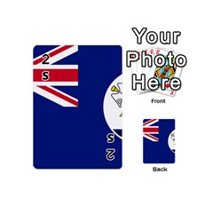Flag Of Vancouver Island Playing Cards 54 (mini) by abbeyz71
