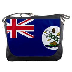 Flag Of Vancouver Island Messenger Bag by abbeyz71