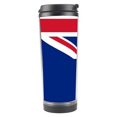 Flag Of Vancouver Island Travel Tumbler by abbeyz71