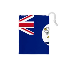 Flag Of Vancouver Island Drawstring Pouch (small)