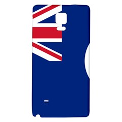 Flag Of Vancouver Island Samsung Note 4 Hardshell Back Case by abbeyz71