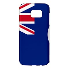 Flag Of Vancouver Island Samsung Galaxy S7 Edge Hardshell Case by abbeyz71