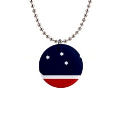 Flag Of Western Canada 1  Button Necklace by abbeyz71