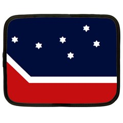 Flag Of Western Canada Netbook Case (large)