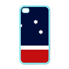 Flag Of Western Canada Apple Iphone 4 Case (color)