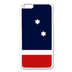 Flag Of Western Canada Apple Iphone 6 Plus/6s Plus Enamel White Case by abbeyz71