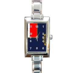 Flag Of Canada Border Services Agency Rectangle Italian Charm Watch by abbeyz71