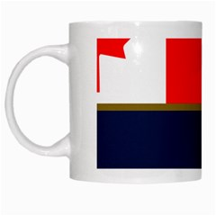 Flag Of Canada Border Services Agency White Mugs by abbeyz71